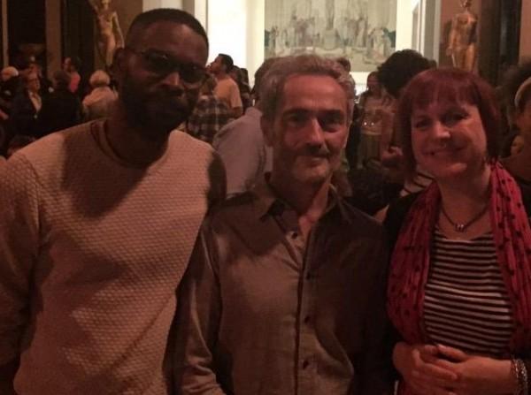 Avec Angelin Preljocaj et mon ami René