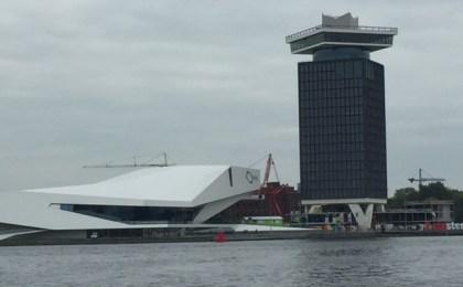 Eye et Amsterdam Toren