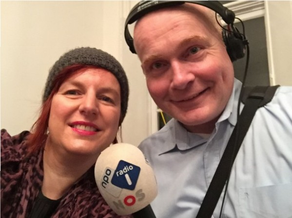 Avec Marc Robin Visscher
