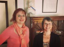 avec Anne Genoud