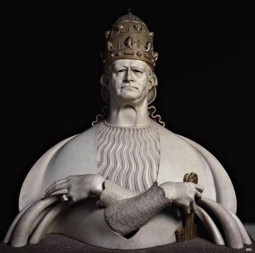 Bust of Pius XI. 1931.