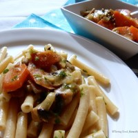 Sauce carottes et champignons aux épices - Végétalien -