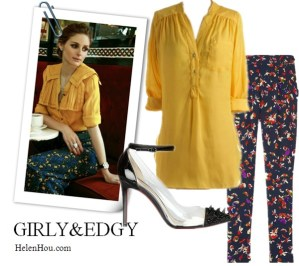 Chic and Colorful Transitional Looks Inspired by Olivia Palermo