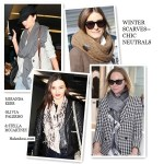 Winter Scarves: Sophisticated Neutrals
