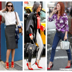 How To Wear Red (Part II: Shoes)