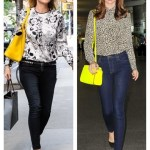 Double Bloom: Printed Blouse & Colored Bag