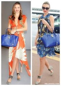 Floral Glamour: Printed Dress & Leopard Pump