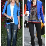 Double Dare: Bright Blazer Styling