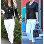 White Jean Pairings: Monochromatic Chic