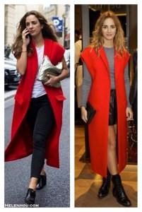 Transitional Dressing: Sleeveless Coat & Menswear Shoes