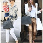 White for Fall: Bomber Jacket & Jacquard Pants