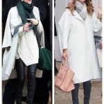 Winter White: Oversized Coat & Ladylike Accessories