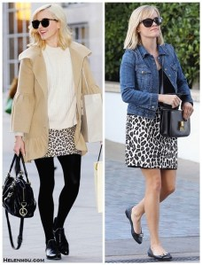 Animal Print Skirt: Now and Later