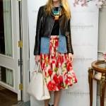 Modernize Your Floral Skirt