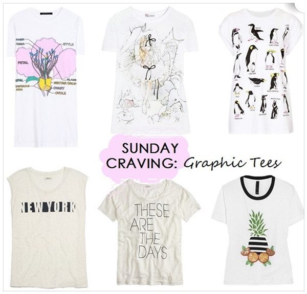 Helenhou.com-Sunday Craving Graphic Tees, Christopher Kane, RED Valentino and more