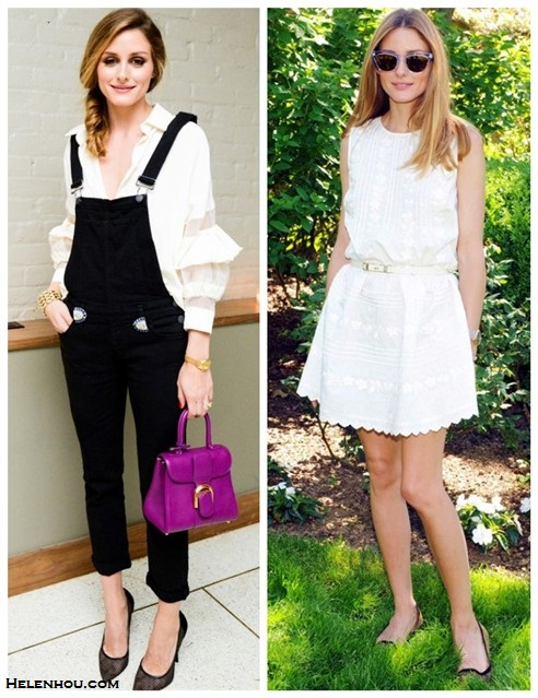 How to wear black and white; summer outfit ideas 2014, street style 2014, Radiant Orchid color trend;