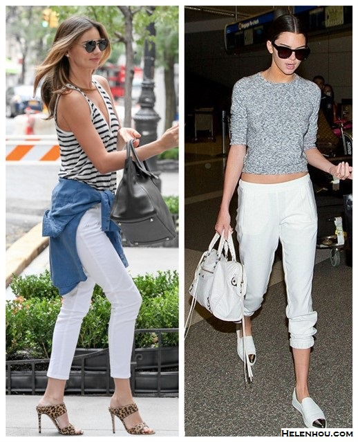 Summer outfit ideas 2014, models off duty, celebrities airport style.