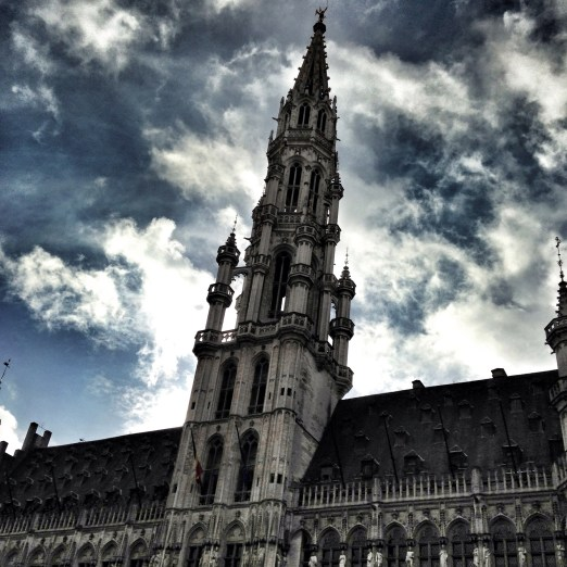 Brussels Town Hall by Day Bruxelles Grand Place