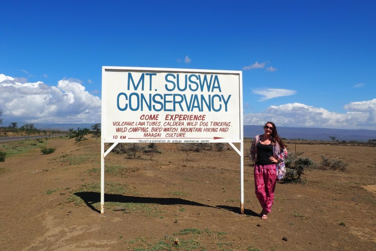 Mount Suswa Conservancy in Kenya