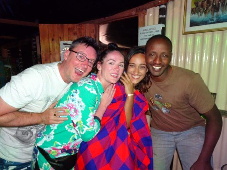 Party at Mara Explorers