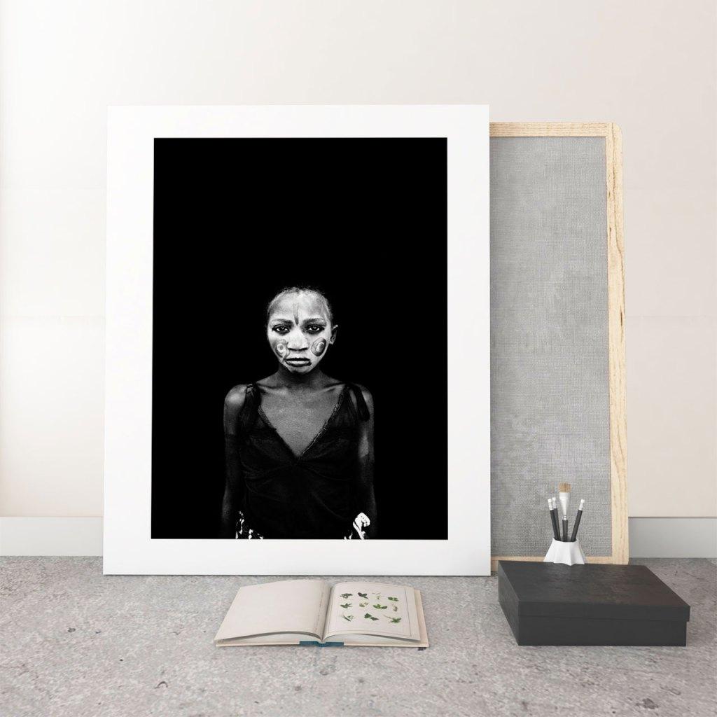 ©Jason Florio - 'Painted Face' Fine art photography prints