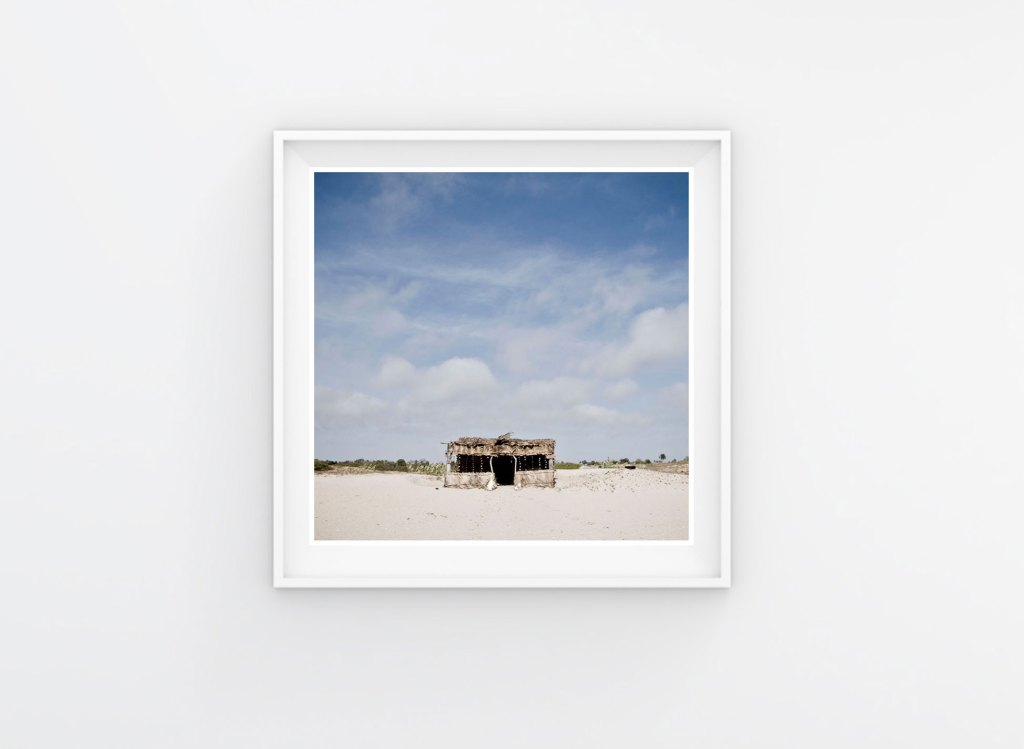 10x10 Instagram Prints Shop. 'Beach Shack' The Gambia © Helen Jones-Florio