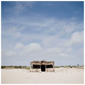 'Beach Shack' The Gambia © Helen Jones-Florio