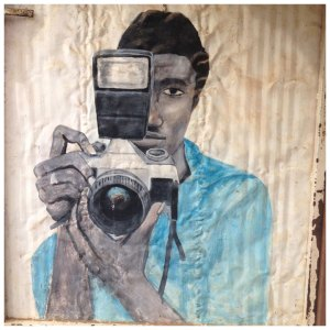 'Camera Man' The Gambia © Helen Jones-Florio
