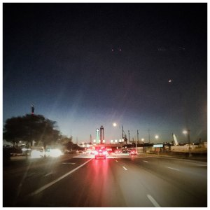 'Dallas Freeway Lights #1' © Helen Jones-Florio