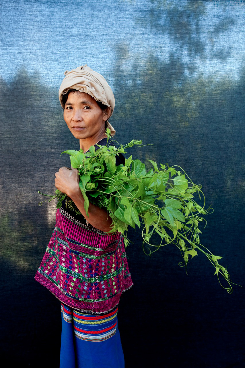 'Farmer', Burma - large format, printed by Pascal for a solo exhibition in NYC