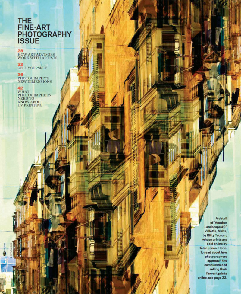 ©Ritty Tacsum-PDN (Photo District News) - opening page, mulit-layered building, Malta