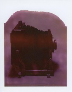 "Image of vintage Deardorff 8""x10"" Polaroid Camera"