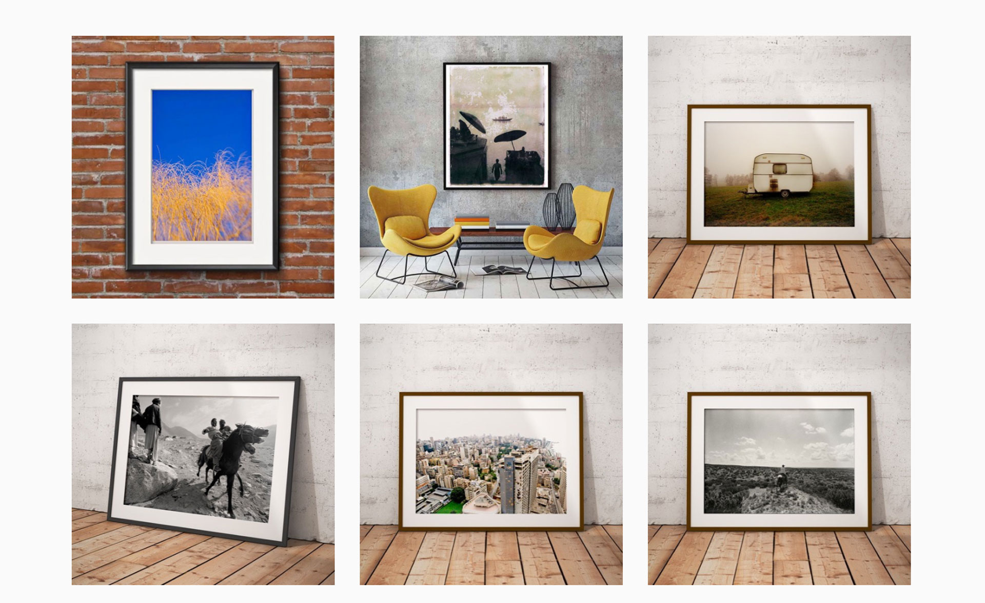 Various framed prints - Helen Jones-Florio online gallery collective of photographers
