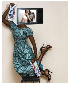 'The Future's So Bright' - Image © Diana Fine. 'Bright' is a slang term for light complexion in the African Diaspora