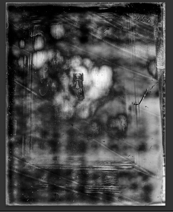 Cezanne's door #1 - ©Michel Delsol black and white print