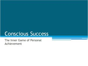 Conscious Success image