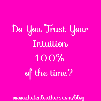 Do You Trust Your Intuition 100%?