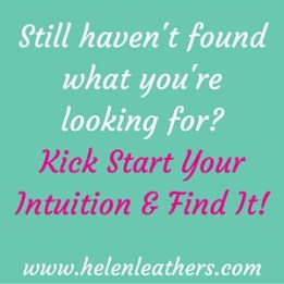 Kick start your intuition