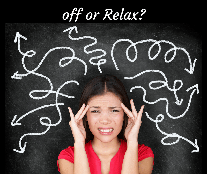 Is Your Brain Too Full To Relax?