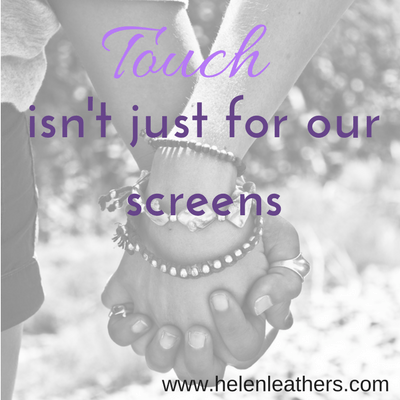 Touch Isn't Just For Our Screens