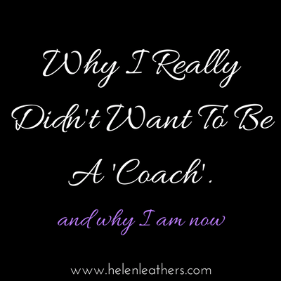 Why I Really Didn't Want To Be A Coach