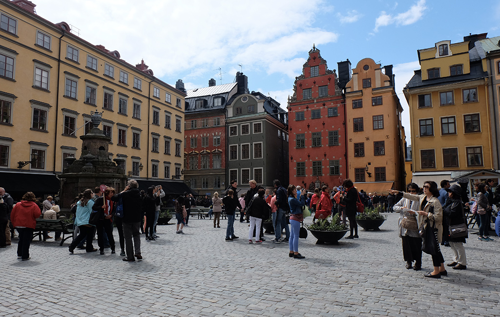 Stortorget - the prettiest and oldest square in Gamla Stan and the original centre of Stockholm