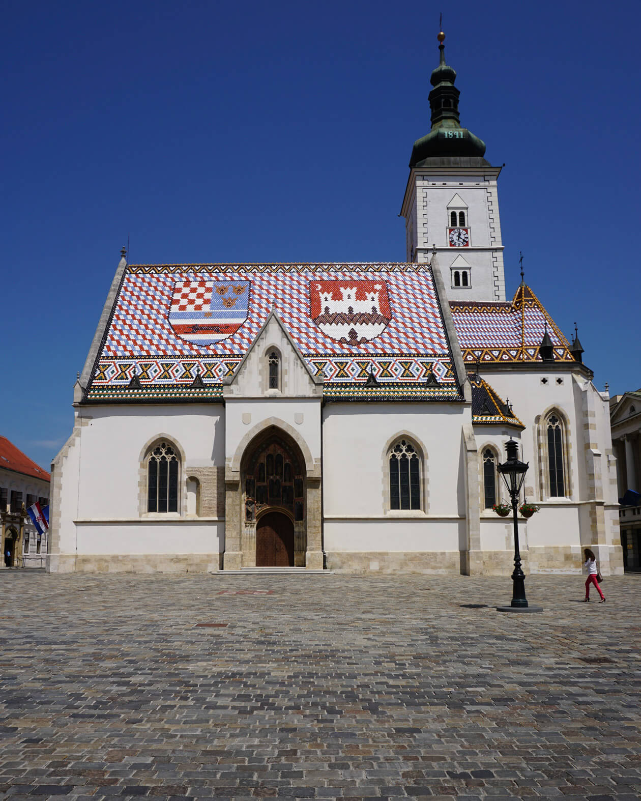 St Mark's Church in Zagreb