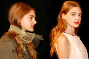 Loose, Sensuous Hair Prepped with Tulle – 2016