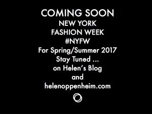 Coming Soon NY Fashion Week Spring – 2017