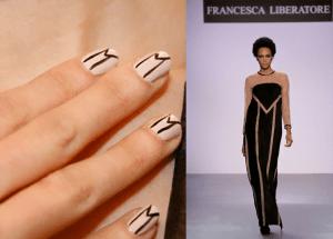 Dress and Nails Same Design