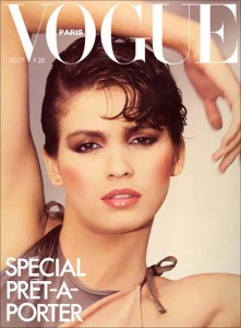 Gia By Sahag French Vogue Cover – 1980