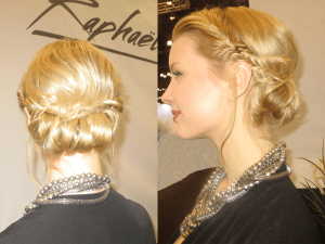 Classy Updo by Raymond Perrier @ IBS 2017
