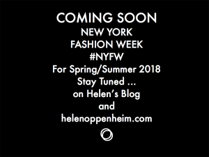 Coming Soon NY Fashion Week Spring - 2018