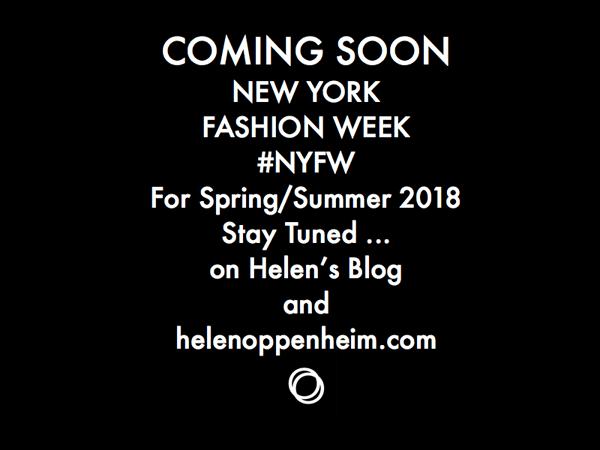 Coming Soon NY Fashion Week Spring -  2018